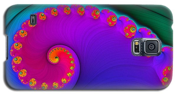 Rainbow Nautilus Galaxy S5 Case