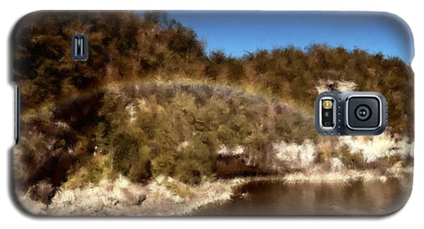 Rainbow On The Cumberland Galaxy S5 Case by Ken Frischkorn