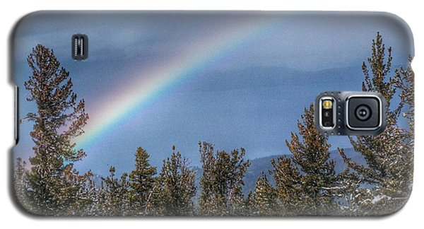 Rainbow Over Heavenly Galaxy S5 Case