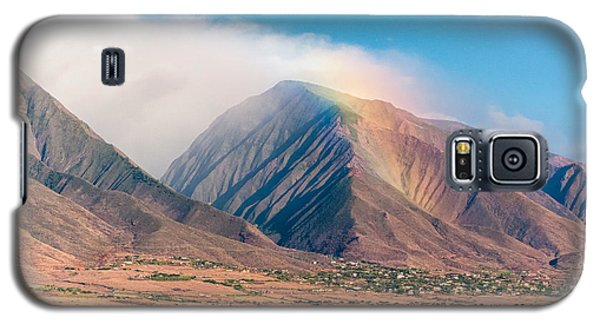 Rainbow Over Maui Mountains   Galaxy S5 Case