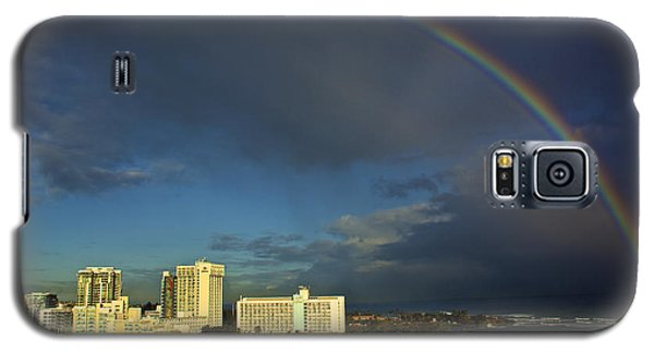 Rainbow Over San Juan Galaxy S5 Case