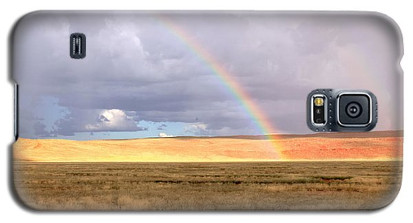 Rainbow Over Sossulvei Galaxy S5 Case