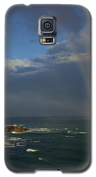 Rainbow Over The Atlantic Galaxy S5 Case