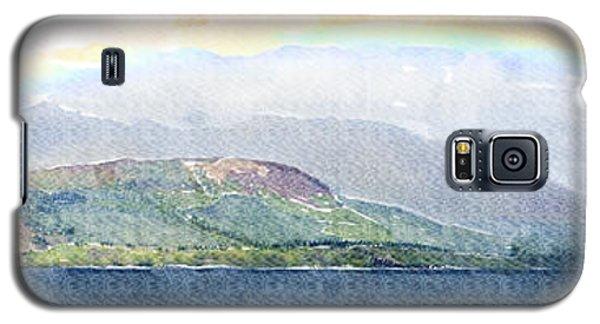 Rainbow Over The Isle Of Arran Galaxy S5 Case by Liz Leyden