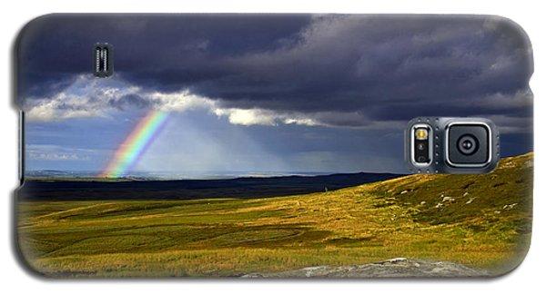 Rainbow Over Yorkshire Moors - Tann Hill Galaxy S5 Case
