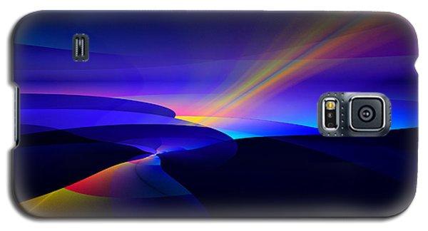 Rainbow Pathway Galaxy S5 Case by GJ Blackman