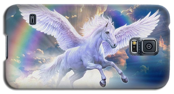 Rainbow Pegasus Galaxy S5 Case by Jan Patrik Krasny