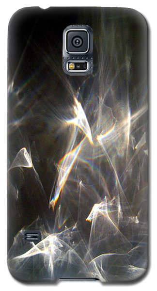 Galaxy S5 Case featuring the photograph Rainbow Pieces by Leena Pekkalainen