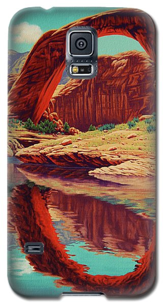 Rainbow Reflection Galaxy S5 Case