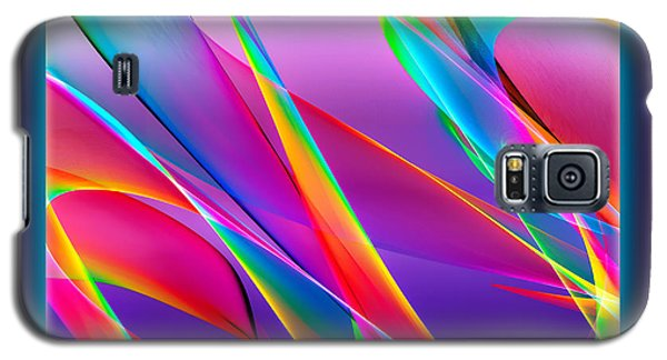 Rainbow Ribbons Galaxy S5 Case