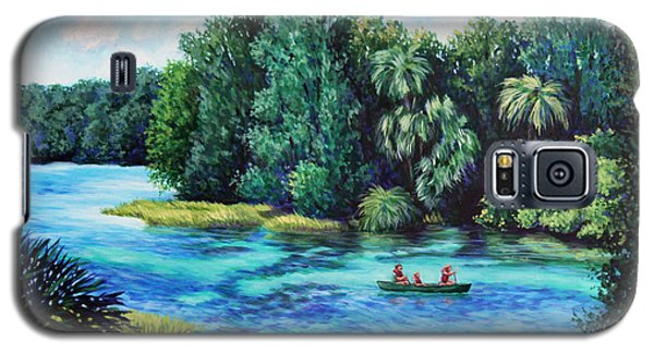 Rainbow River At Rainbow Springs Florida Galaxy S5 Case by Penny Birch-Williams