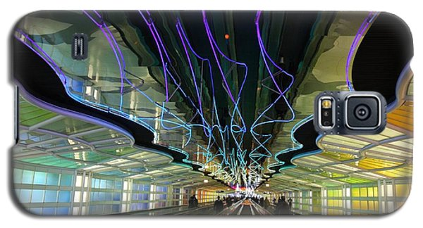 Galaxy S5 Case featuring the photograph Rainbow Strike by Nathan Rupert