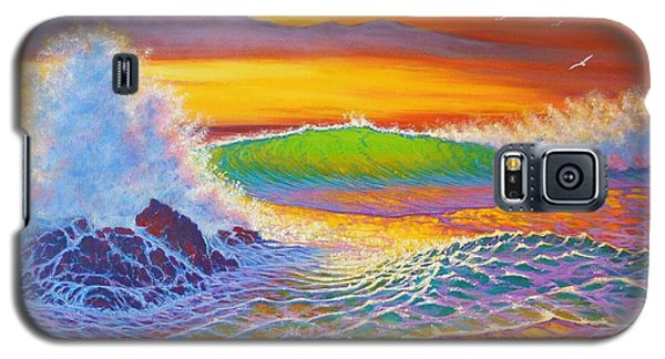 Rainbow Sunset II Galaxy S5 Case