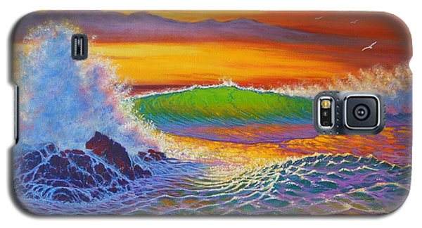 Rainbow Sunset IIi Galaxy S5 Case