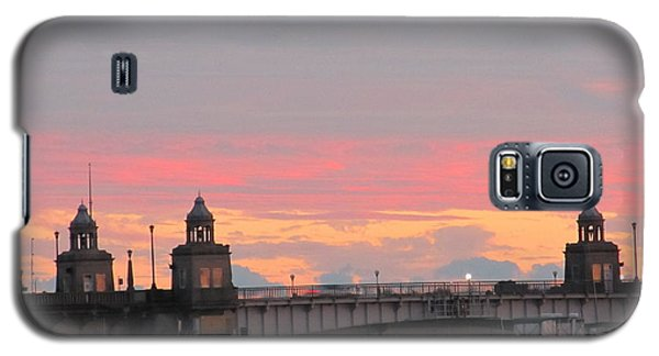 Galaxy S5 Case featuring the photograph Rainbow Sunset by Joetta Beauford