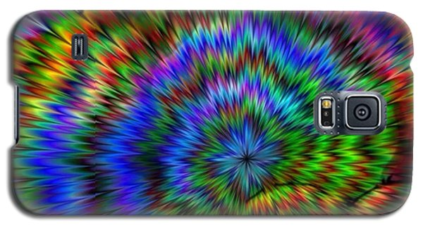 Rainbow Super Nova Galaxy S5 Case