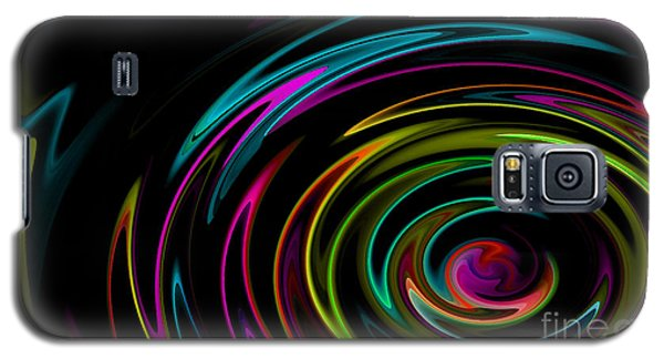 Rainbow Whirlpool Galaxy S5 Case