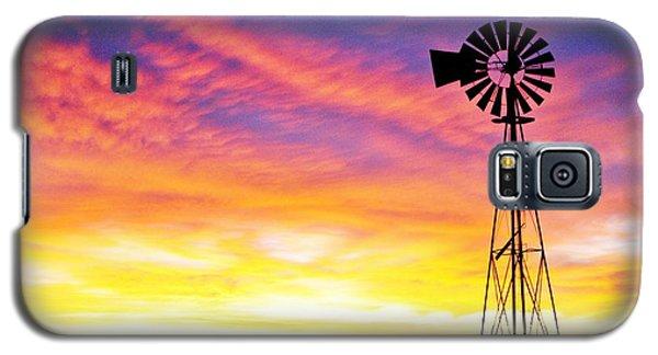 Rainbow Windmill Galaxy S5 Case