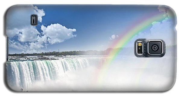 Rainbows At Niagara Falls Galaxy S5 Case