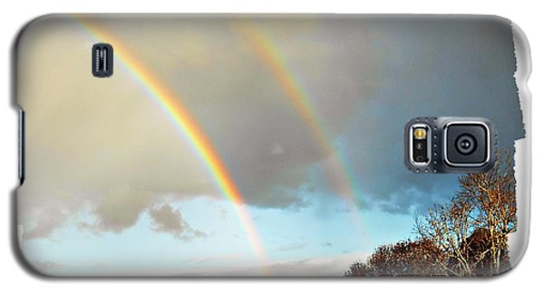 Galaxy S5 Case featuring the photograph Rainbows by Leanne Seymour
