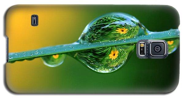 Raindrop Flowers Galaxy S5 Case
