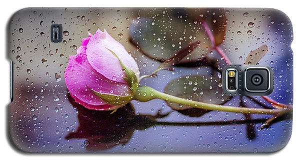 Raindrops And The Rose Galaxy S5 Case