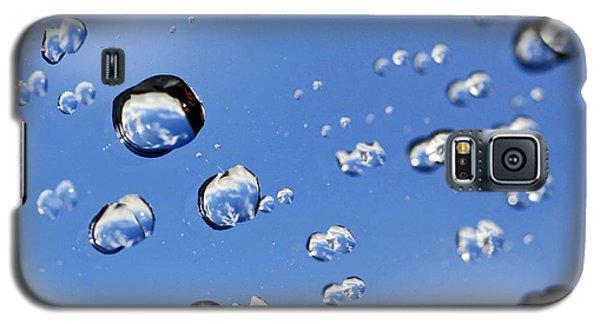Raindrops On Window Galaxy S5 Case by Craig B