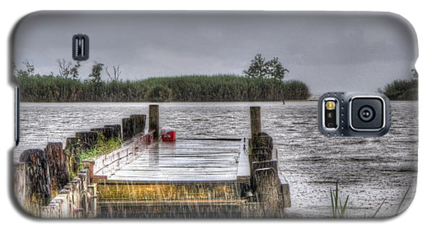 Galaxy S5 Case featuring the photograph Rained Out by Charlotte Schafer