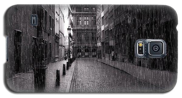 Raining In Amsterdam Galaxy S5 Case