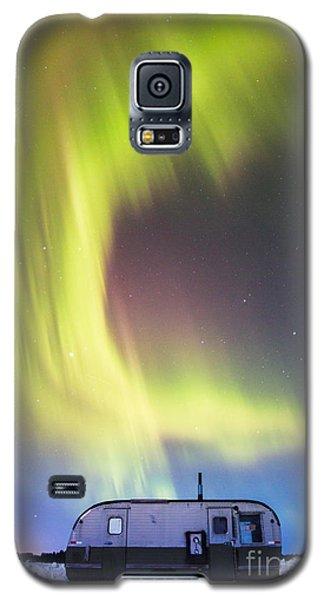 Raining Lights On Rainy Lake Galaxy S5 Case