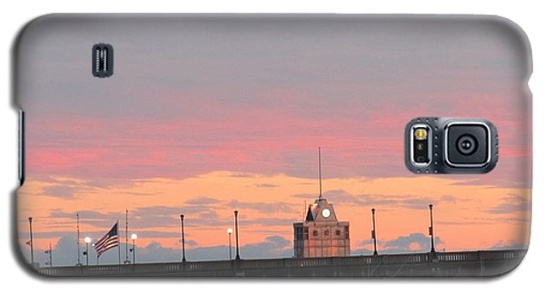 Galaxy S5 Case featuring the photograph Rainless Rainbow At Sunset by Joetta Beauford