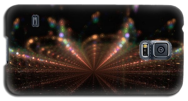 Rainy City Night Galaxy S5 Case by GJ Blackman