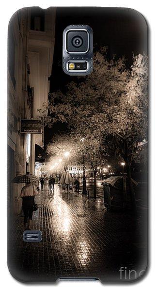 Rainy City Streets  Galaxy S5 Case