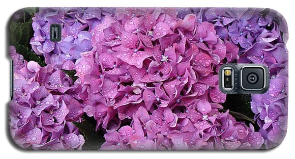 Galaxy S5 Case featuring the photograph Rainy Day Flowers by Ira Shander