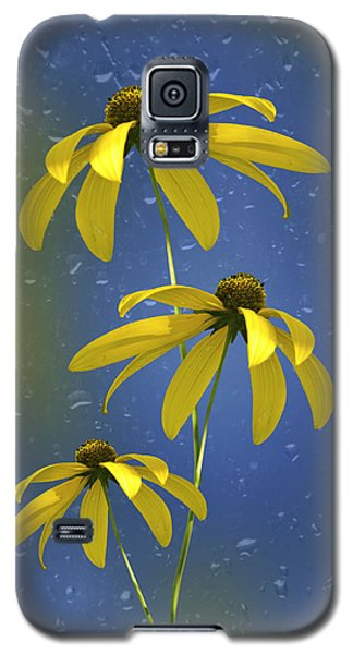 Galaxy S5 Case featuring the photograph Rainy Day by Judy  Johnson