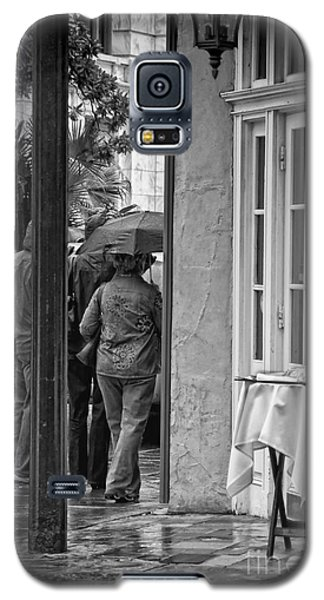 Rainy Day Lunch New Orleans Galaxy S5 Case by Kathleen K Parker