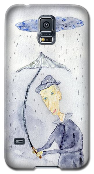 Rainy Day Man Galaxy S5 Case