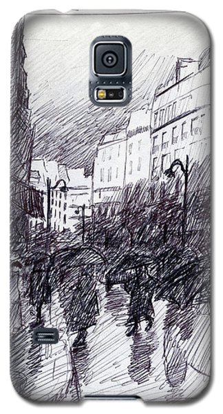 Rainy Day Paris Galaxy S5 Case