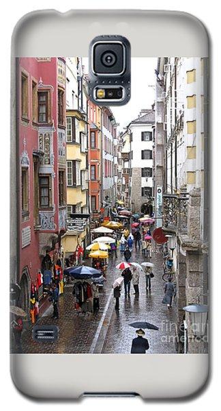 Rainy Day Shopping Galaxy S5 Case by Ann Horn
