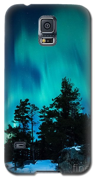 Rainy Lake Lights Galaxy S5 Case