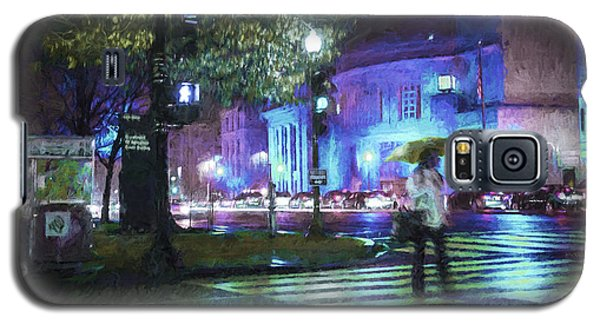 Rainy Night Blues Galaxy S5 Case