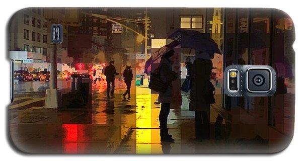 Rainy Night New York Galaxy S5 Case