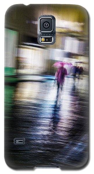 Rainy Streets Galaxy S5 Case