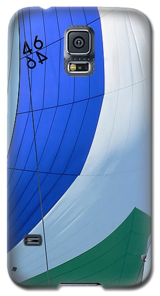 Raising The Blue And Green Sail Galaxy S5 Case