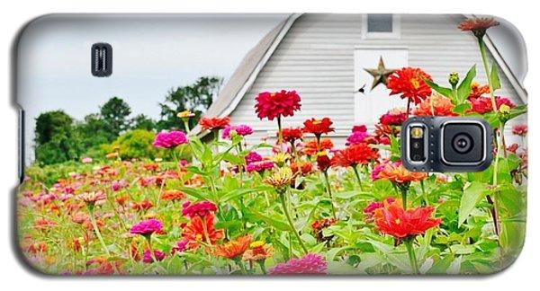 Raising Zinnia Flowers - Delaware Galaxy S5 Case