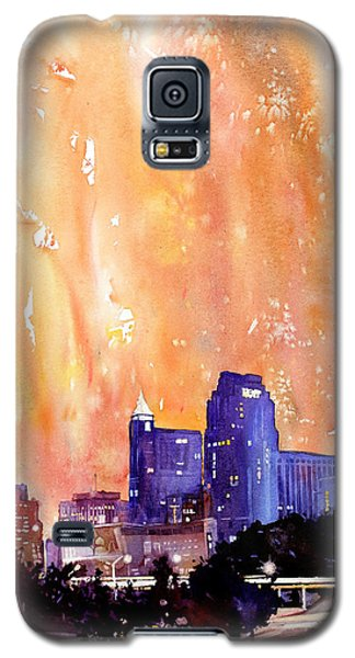 Raligh Skyline Sunset Galaxy S5 Case