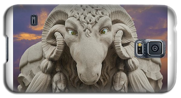 Ram A Sees Naturally Stoned Poster Galaxy S5 Case by David Davies