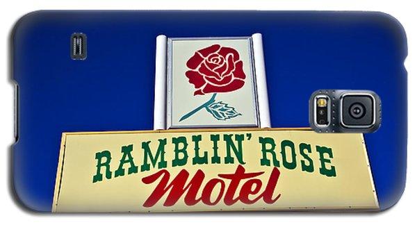 Ramblin' Rose Motel Galaxy S5 Case