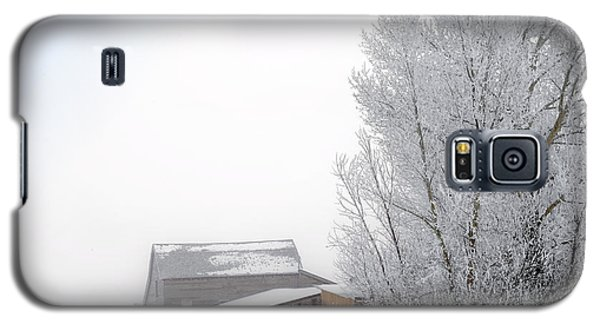 Ranch In Frozen Fog Galaxy S5 Case