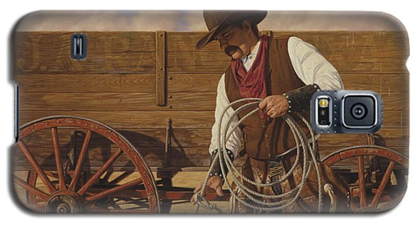Ranch Wagon Galaxy S5 Case by Ron Crabb